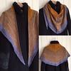 Daybreak shawl, pattern by Stephen West