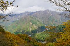 蛭ヶ岳は雲がかかっている@小丸付近