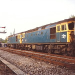 BR Class 33/1s 33102 & 33114 - Marchwood