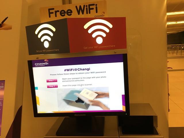 Wi-Fiはパスポートが必要なタイプ