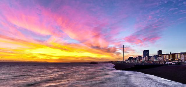 Brighton Afterglow, Pentax K-3 II