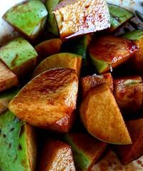 Green apple + kicap + sos cili