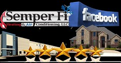 Semper Fi HVAC Facebook Customer 5 star Reviews