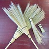 Happy #birthday #HarryPotter! They're no Nimbus 2000, but these #handcrafted brooms are a great gift, traditionally given for a #wedding or #housewarming, to sweep out the house's old spirits (no enchantment necessary). The Bucks County sisters of @_siste