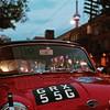 The moon! #toronto #cntower #minicooper #summertimeshine #car #streetshots #ontario_adventures #ontario #Canada #trees
