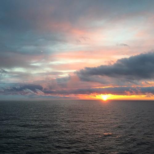 Sunset August 3rd. #halcruises