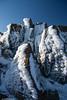 Snow blasted rocks by nomadictendancies