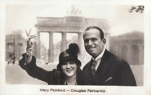 Mary Pickford and Douglas Fairbanks in Berlin