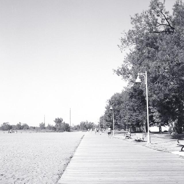 Walking Westward Towards Kew Beach