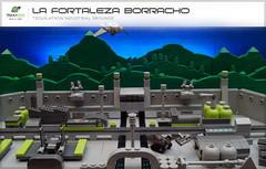 La Fortaleza Borracho (The drunken fortress) - Tequilatron Industrial grounds