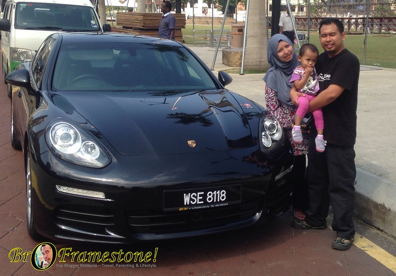 Pengalaman menaiki Porsche Panamera bersama #GrabCar #GrabLuxuryCar #MyTeksi