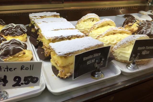 Vanilla slice, Vina Bakehouse