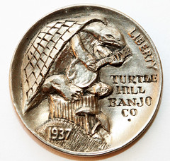 Ron Landis Hobo nickel banjo 3