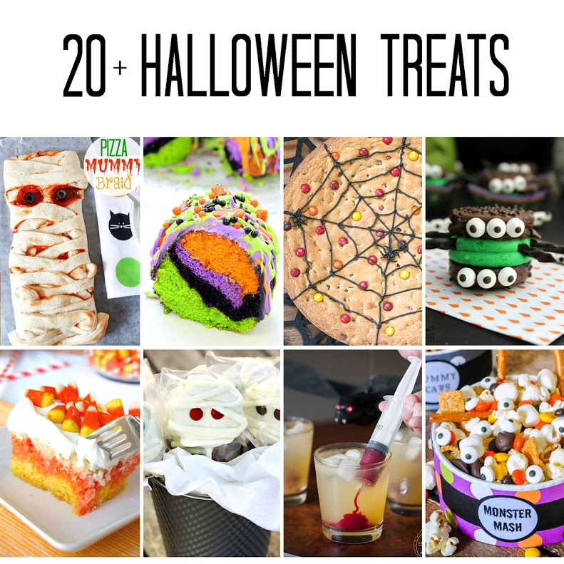 20+ Halloween Recipes from the BEST bloggers on the web!!