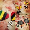 #handmadejewelry ,#etsyshopowners ,#etsy, #etsydesigner, #blackwomenwithlocs, #blackbussinessowner, #etsyseller, #etsyfindsoftheday, #etsyfinder, #etsybusiness, #etsyartistofcolor, #earrings are sold on http://www.etsy.com/shop/twopeasinapod123. Thank you