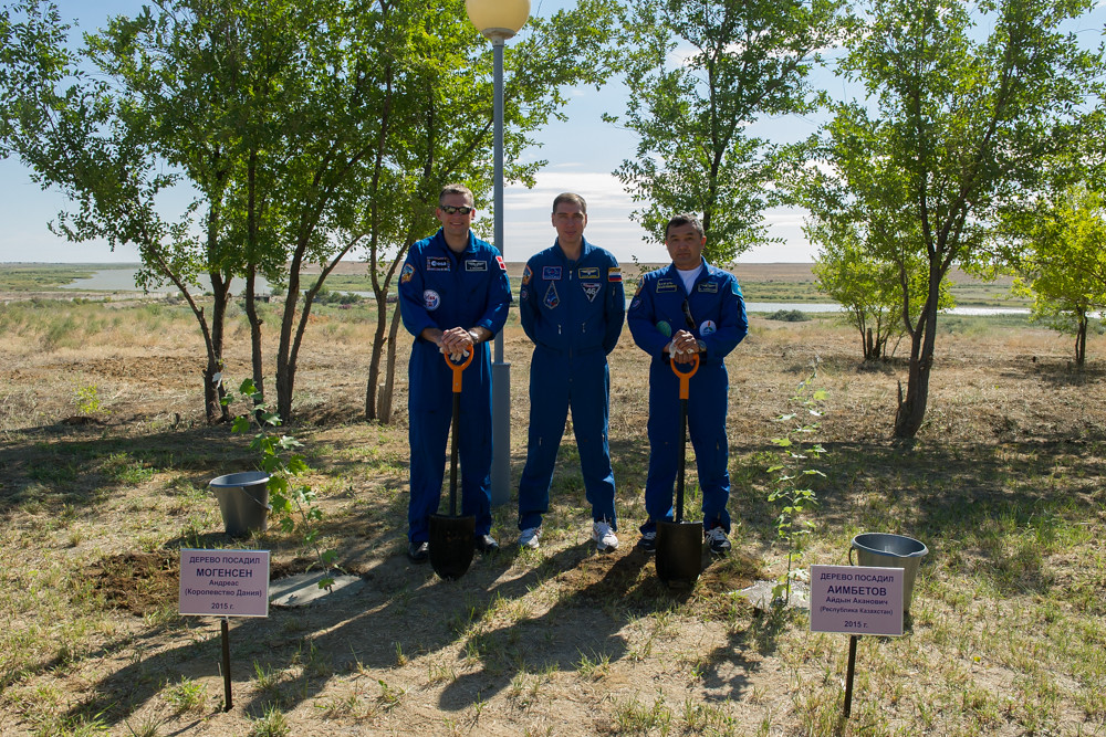 Quarantine in Baikonur