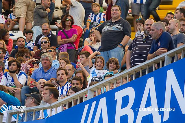 La afición en el Deportivo - Sporting