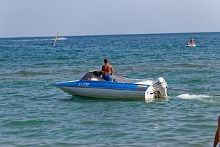 Obraz Плаж Албена (Albena Beach) Plaża o długości 3179 m. sea beach seaside albena