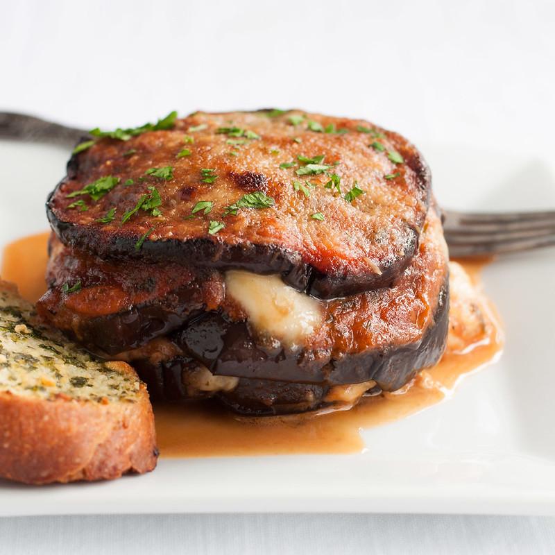 Gluten Free Eggplant Parm Bake - Natural Comfort Kitchen