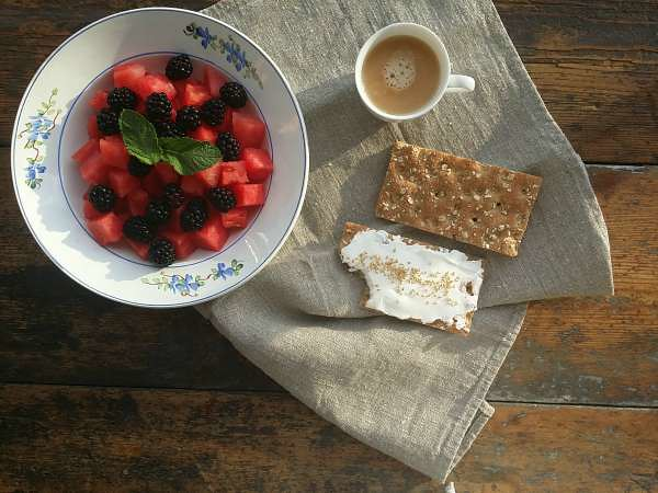 Desayuno bonito y saludable 1
