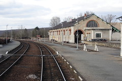 20080122 013 Saint-Amand-Montrond. Goods Shed, Station. Direction Bigny