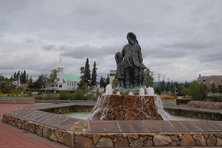 015 Monument in Fairbanks