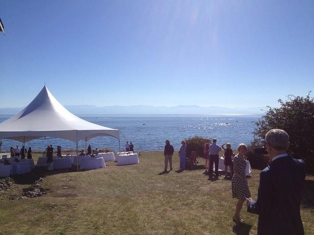 San Juan island wedding