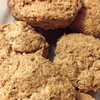 Spelt wheat #scones with chia and flax seeds.