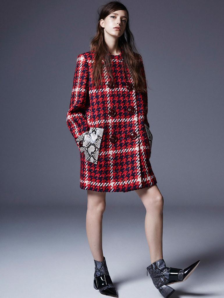 Стэйси Мартин — Фотосессия для «Elle» UK 2015 – 1