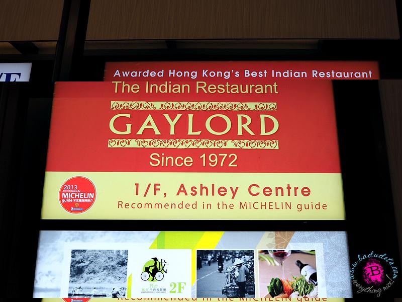 gaylord restaurant hong kong