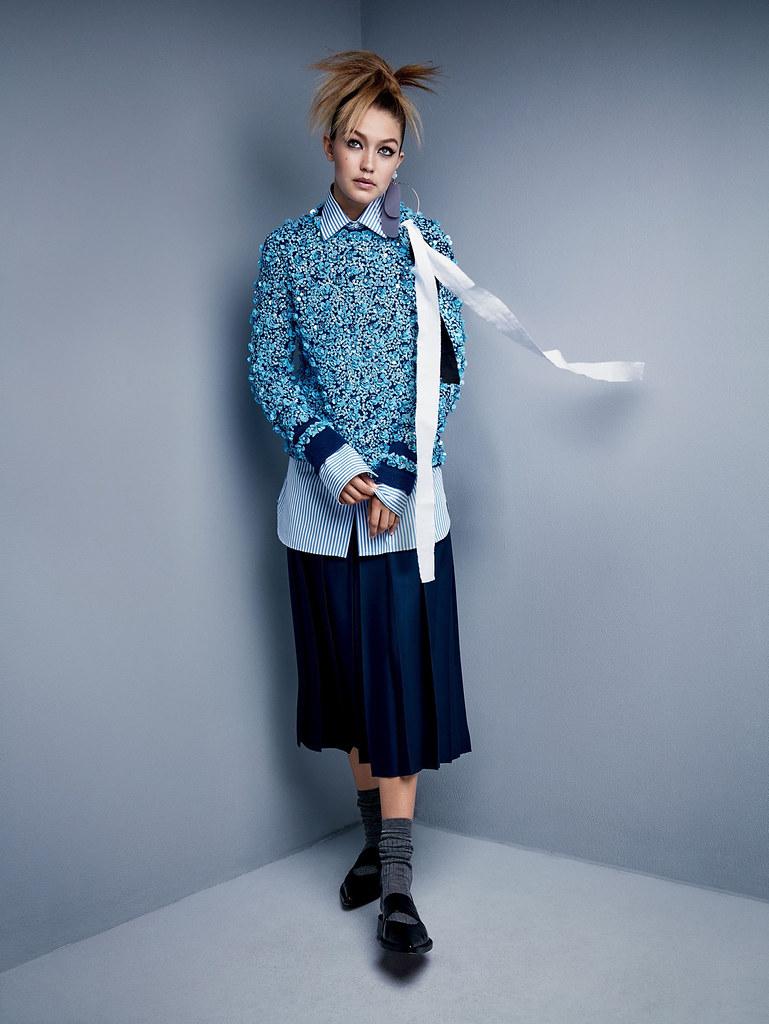 Джиджи Хадид — Фотосессия для «Vogue» 2015 – 8