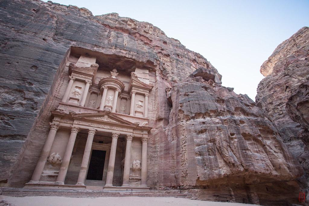 Le Khazneh - 50 de los lugares más bellos de Asia