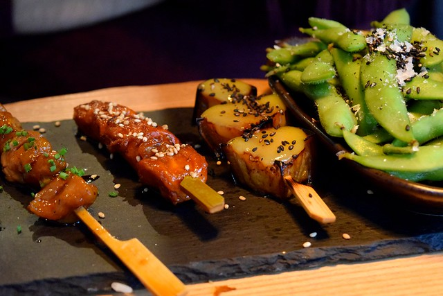Japanese Marinated Skewers at Murakami, Covent Garden | www.rachelphipps.com @rachelphipps