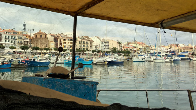 the harbour, Cambrils, Catalonia