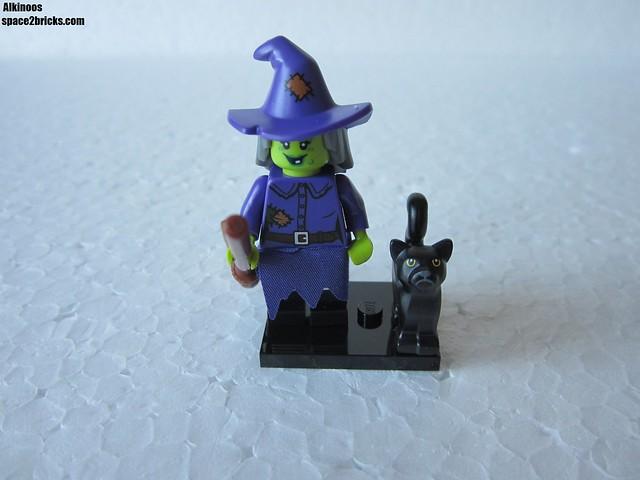 Lego Minifigures S14 sorcière p1