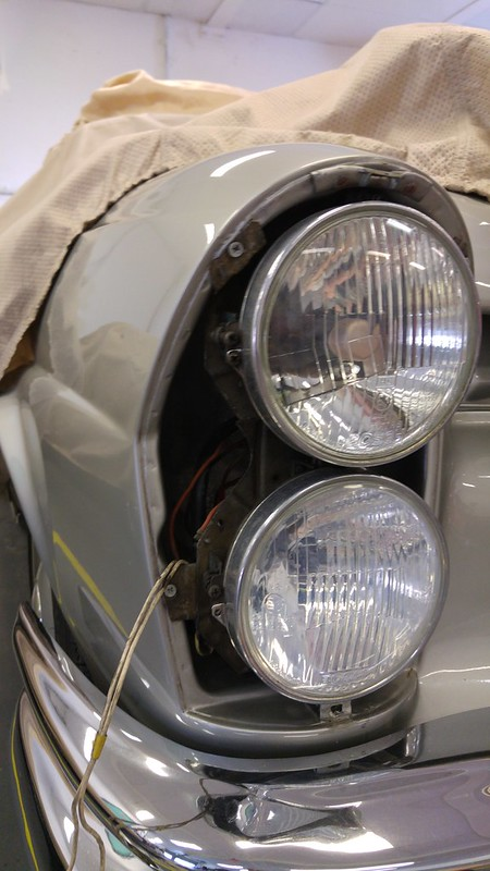 Old headlight