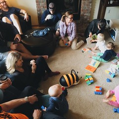 Thanks everyone for coming out and giving my new child care business a test drive.  Football & Babies, what's not to love?!  #goodideas