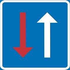 Väistämisvelvollisuus Liikennemerkki