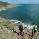 Hiking along Guana Bay - St. Maarten