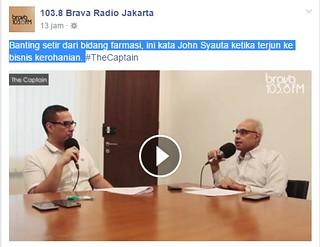 Bating Setir bisnis di TheCaptain Brava Radio