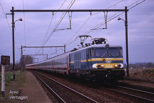 2001. NMBS 1504 te Blaregnies