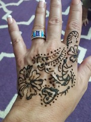 Henna at the Eid celebrations