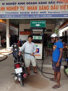 Fill 'er up. Phu Quoc, Vietnam