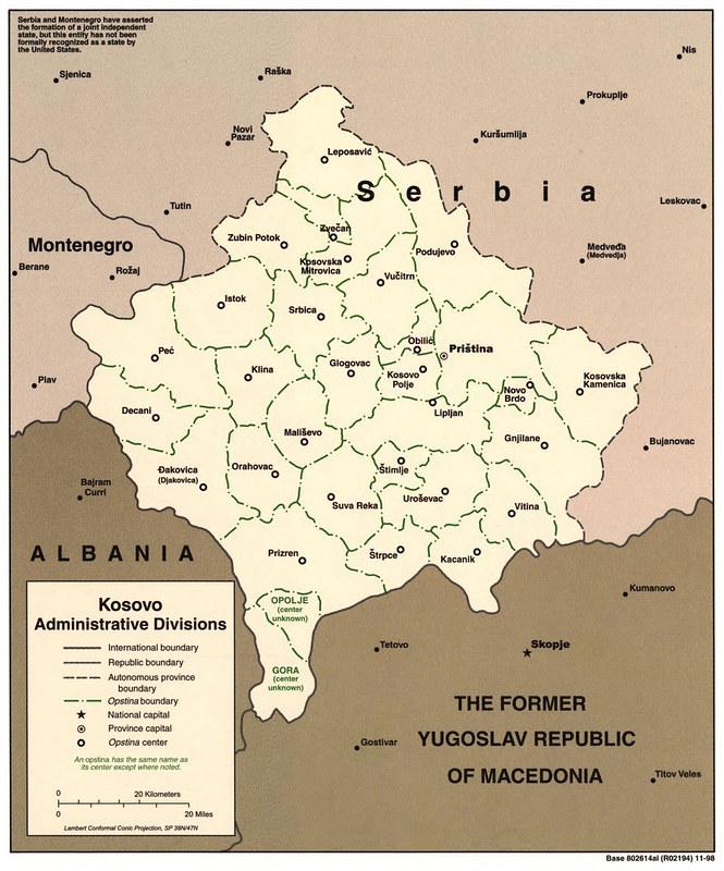 1998 Kosovo