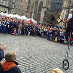 Buskers galore