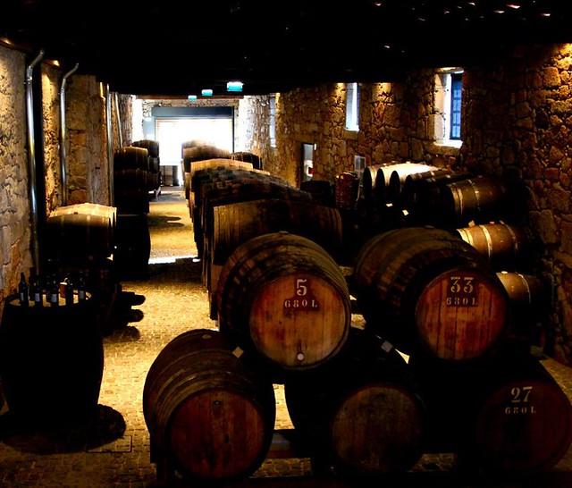 The cellar of Porto