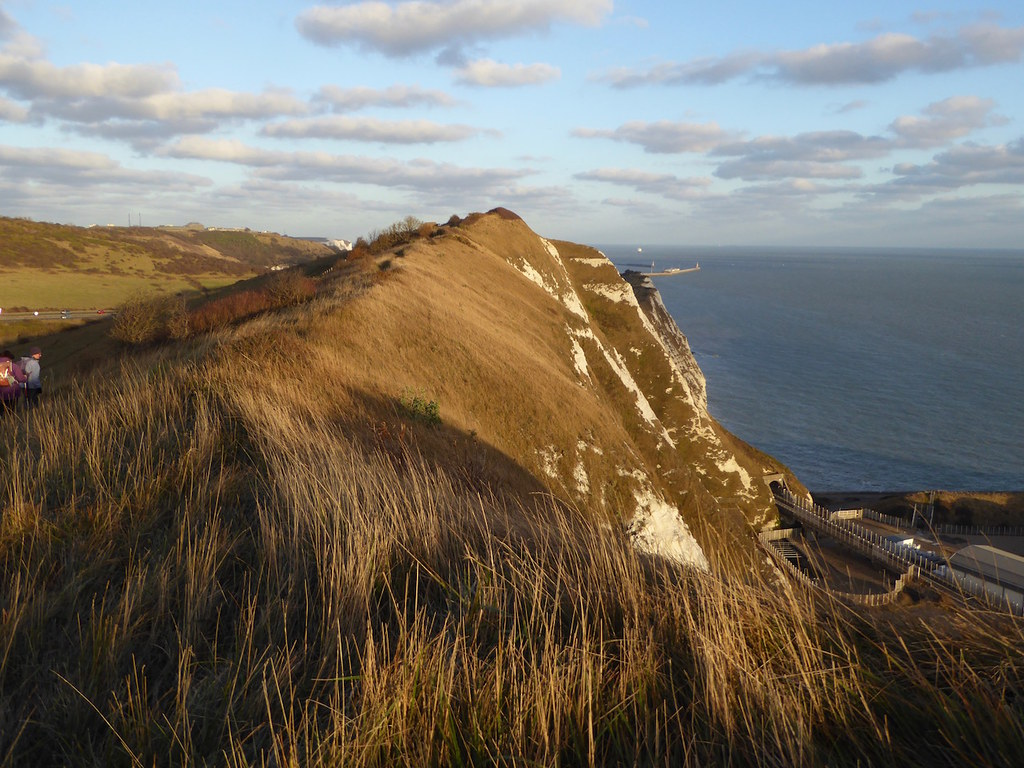 Shakespeare Cliff Folkestone to Dover walk