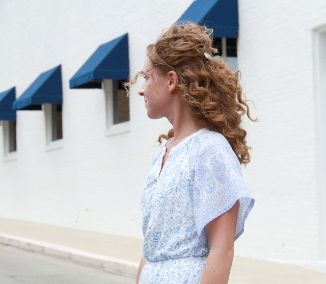 sleeveless dress refashion
