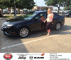 #HappyAnniversary to Melissa  and your 2012 #Ford #Fusion from Everyone at Holt Chrysler Jeep Dodge!