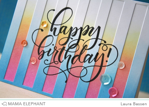 Mama Elephant-Birthday Wishes